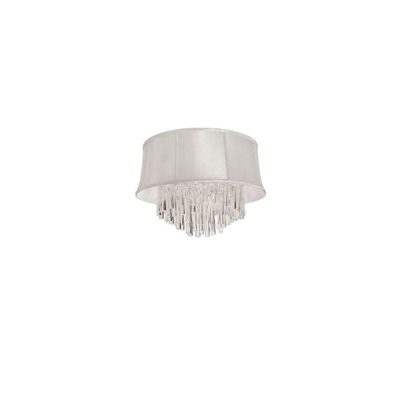 Dainolite JUL184FH-PC-140 Julia 4 Light Flushmount Ceiling Fixture