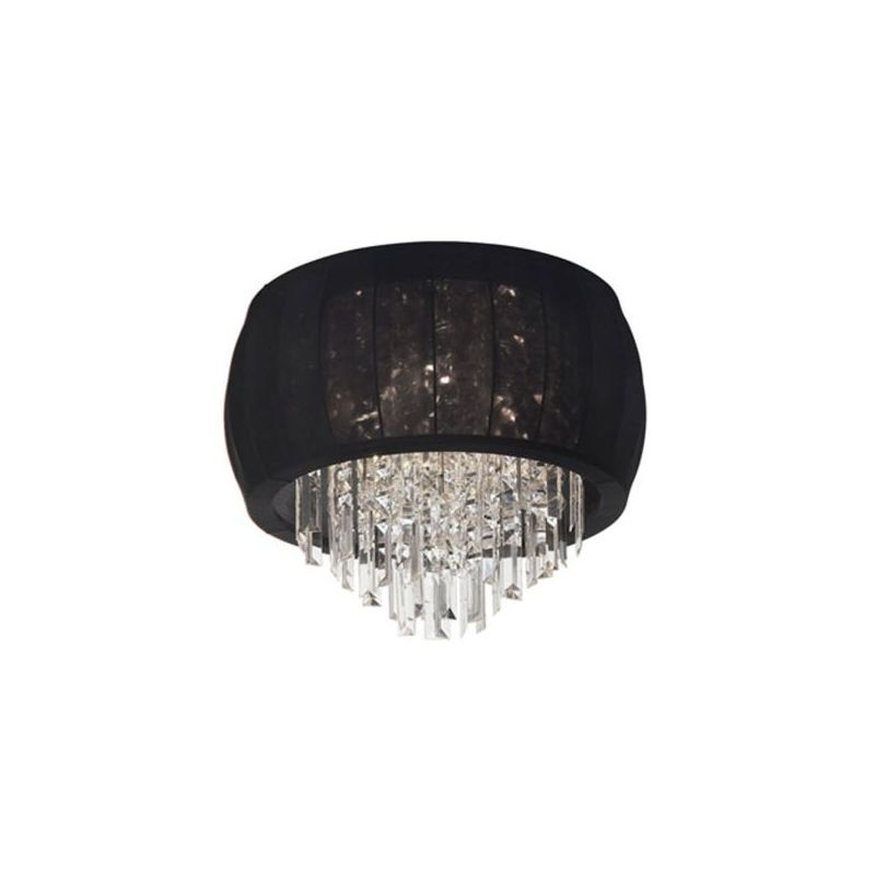 Dainolite MYA-14FH-PC-901 Maya 3 Light Flushmount Ceiling Fixture