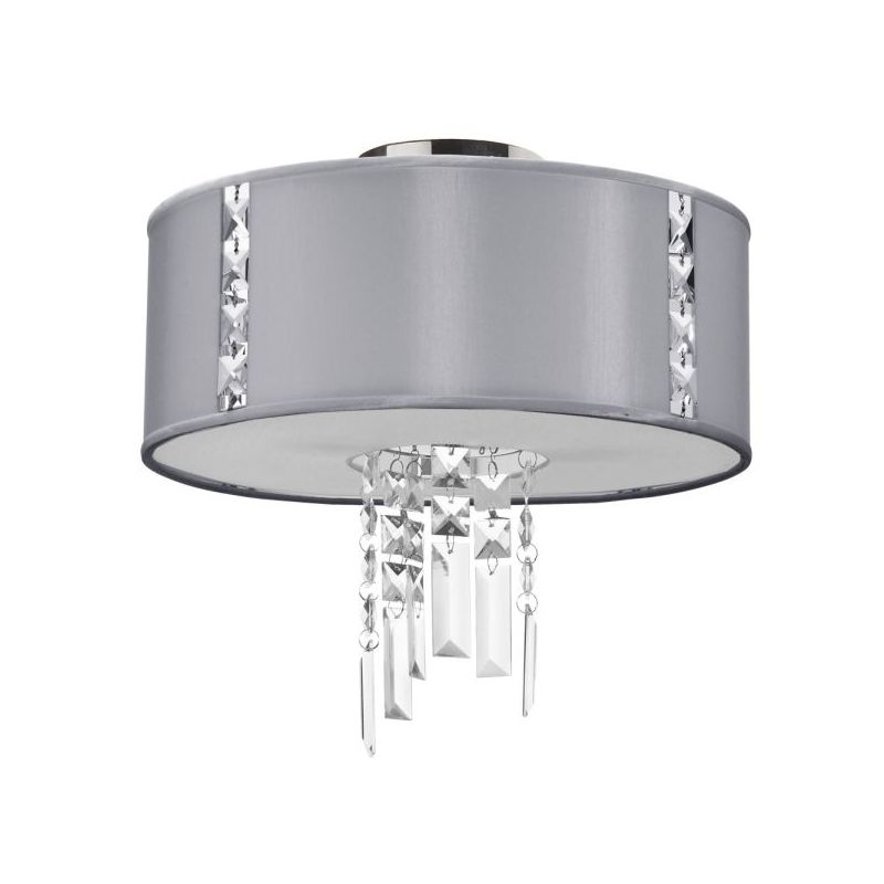 Dainolite RTA-12SF-PC-834 Rita 2 Light Flush Mount Ceiling Fixture