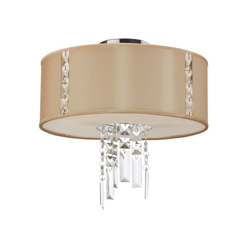 Dainolite RTA-12SF-PC-839 Rita 2 Light Flush Mount Ceiling Fixture