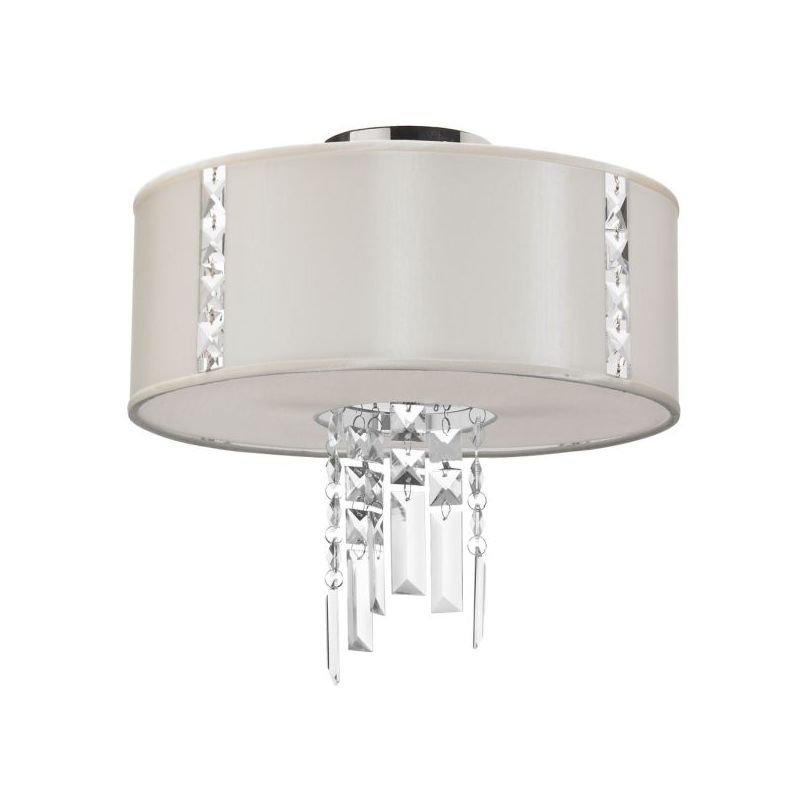 Dainolite RTA-12SF-PC-840 Rita 2 Light Flush Mount Ceiling Fixture