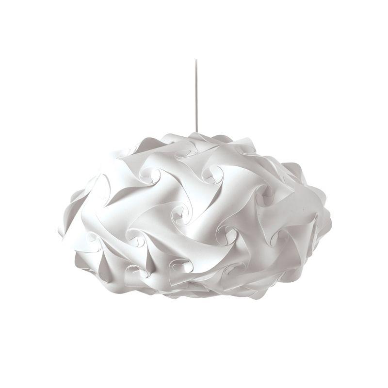 Dainolite DBL-FLT-790 Daino Ball 3 Light Pendant White Indoor Lighting