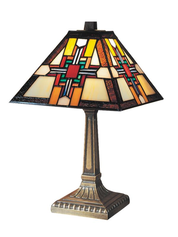 Dale Tiffany 7342/533 Morning Star Table Lamp Antique Bronze Lamps