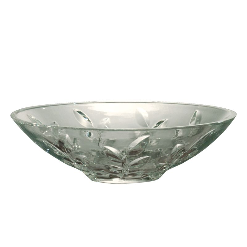 "Dale Tiffany GA60827 4.5"" Leaf Vine Bowl with 24 Percent Lead Hand Cut"