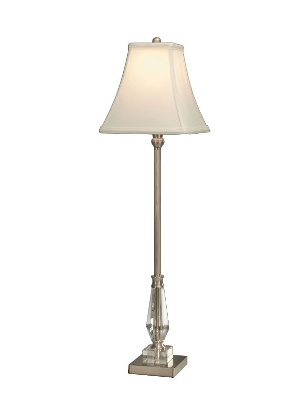 Dale Tiffany GB60765 Sieve Buffet Table Lamp with 1 Light Brushed