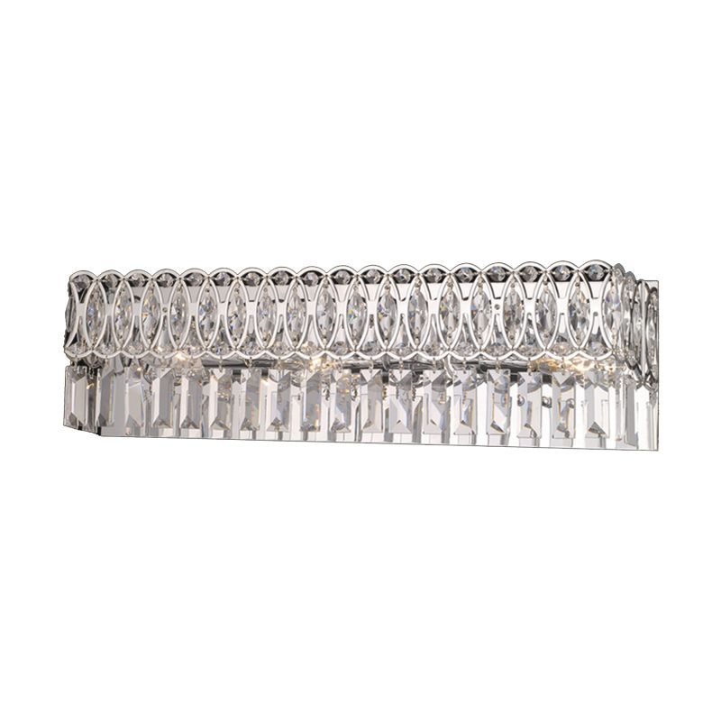 "Dale Tiffany GH90246 24"" x 4.5"" x 6.5"" London Vanity Fixture Polished"