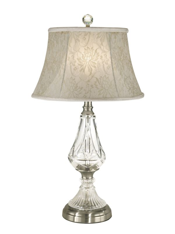 Dale Tiffany GT10227 1 Light Crystal Table Lamp with Fabric Shade Sale $197.99 ITEM: bci1677756 ID#:GT10227 UPC: 20258096853 :