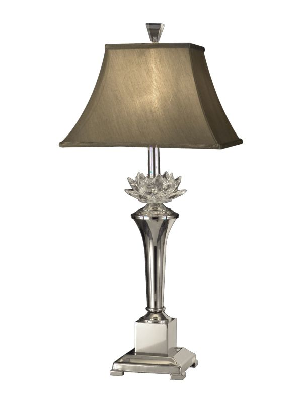 Dale Tiffany GT11218 Paseo 1 Light Table Lamp Polished Nickel Lamps Sale $217.99 ITEM: bci2281111 ID#:GT11218 UPC: 20258112010 :