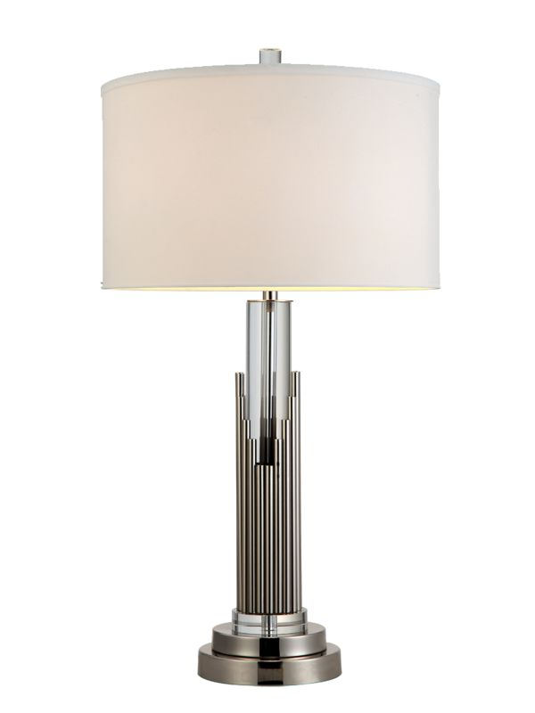 Dale Tiffany GT12273 Sterling 1 Light Table Lamp Satin Nickel Lamps Sale $217.99 ITEM: bci2281121 ID#:GT12273 UPC: 20258116612 :