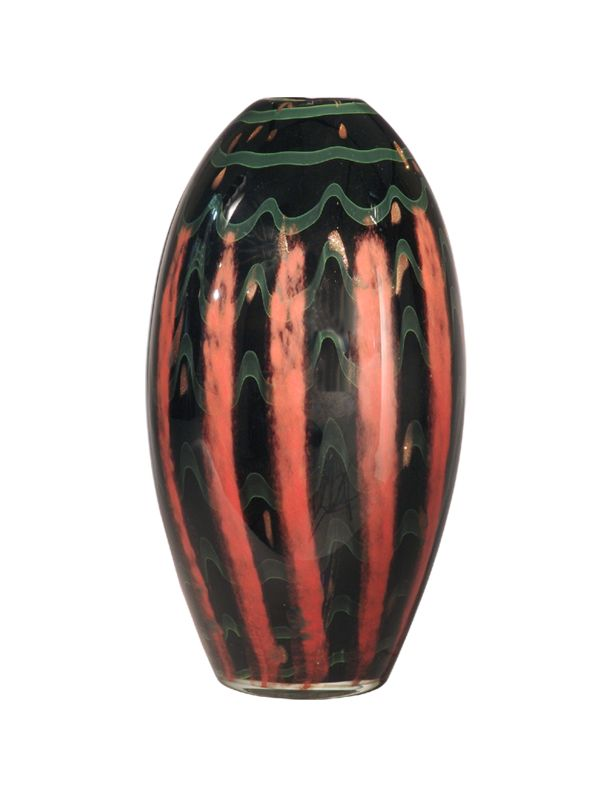 Dale Tiffany PG80168 Carmelo Vase Black / Bronze Home Decor Vases