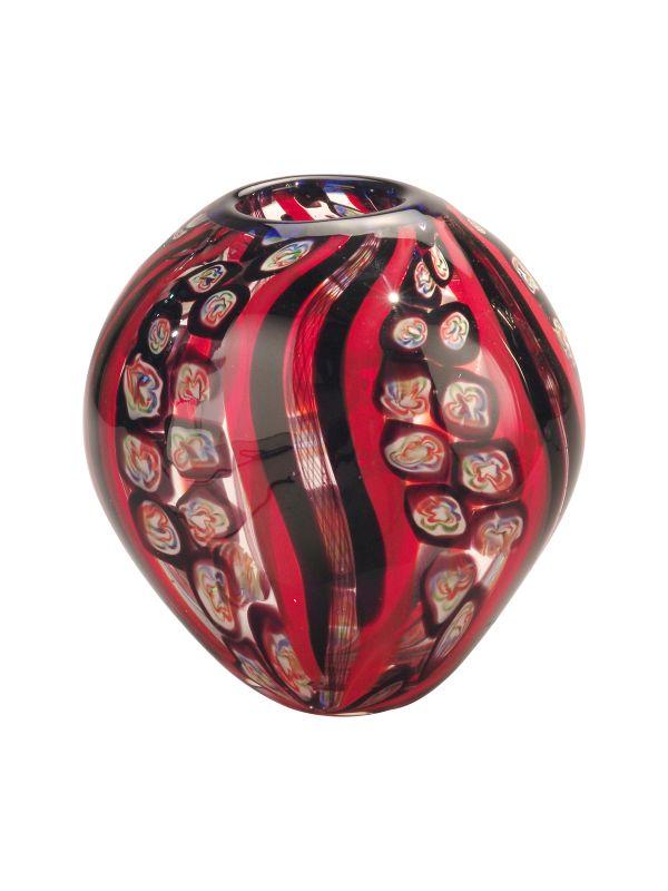 """Dale Tiffany PG80201 8.5"""" x 9.5"""" Santa Cruz Vase Home Decor Vases"""