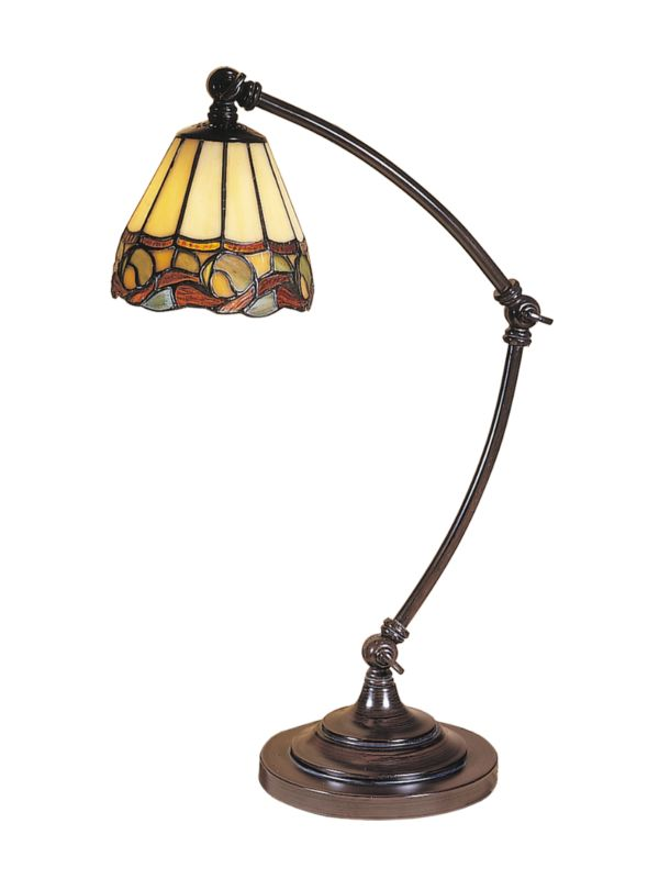 "Dale Tiffany TA100700 21"" x 28"" Ainsley Desk Lamp from the Accent"