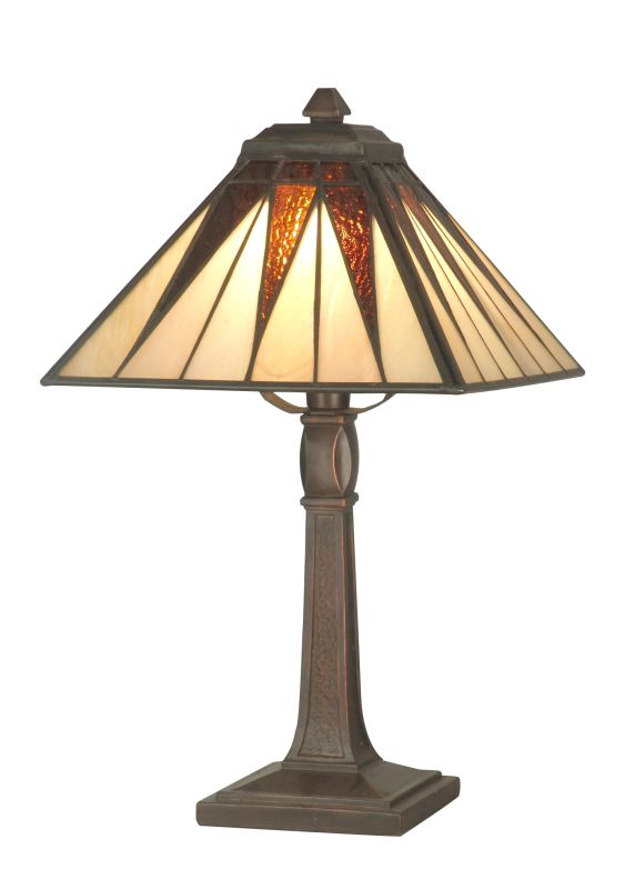 "Dale Tiffany TA70680 14"" Tall Cooper Accent Lamp from the Miniature"