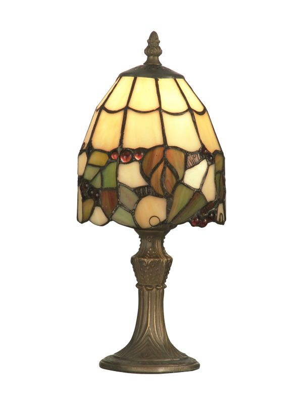 "Dale Tiffany TA70709 5"" x 13"" Tiffany Grape Accent Lamp from the"