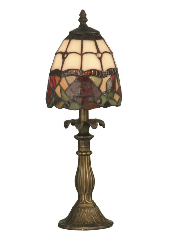 "Dale Tiffany TA70711 5.5"" x 14.5"" Enid Table Lamp from the Miniature"