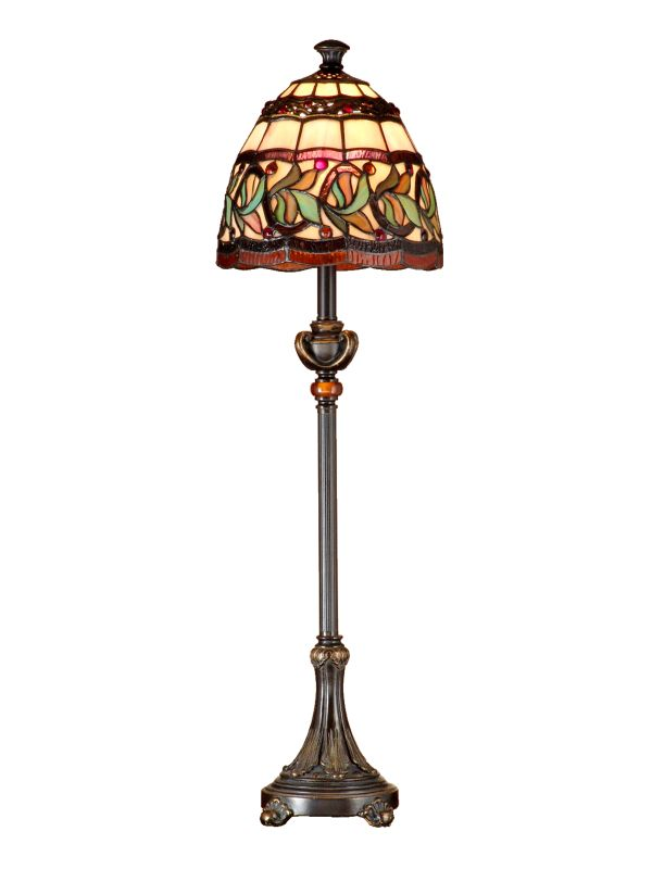 Dale Tiffany TB101109 Aldridge Buffet Lamp Antique Bell Bronze Gold