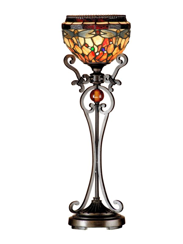 Dale Tiffany TB13067 Briar Dragonfly 1 Light Buffet Lamp Antique Sale $289.99 ITEM: bci2281140 ID#:TB13067 UPC: 20258121524 :