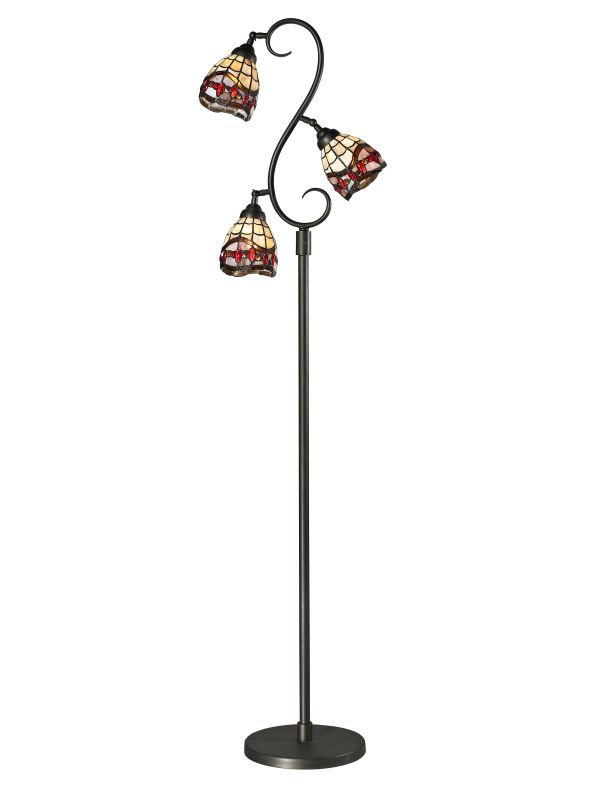 Dale Tiffany TF12408 Fall River 3 Light Torchiere Lamp Dark Bronze Sale $289.99 ITEM: bci2281151 ID#:TF12408 UPC: 20258119590 :