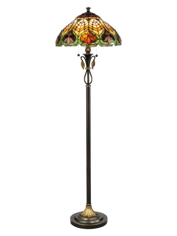 "Dale Tiffany TF50012 18"" x 62"" Sir Henry Floor Lamp from the Markus"