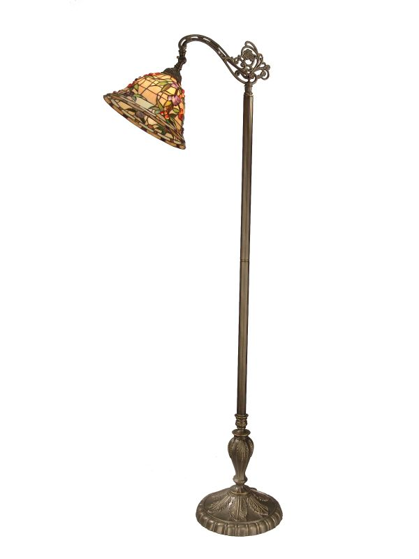 "Dale Tiffany TF50181 64"" Bochner Downbridge Floor Lamp with 1 Light"