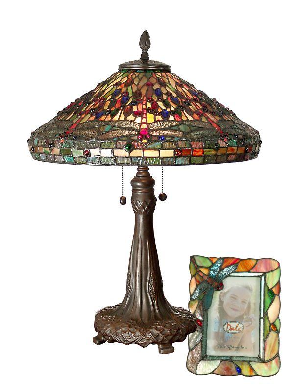 dale tiffany tt100953 antique bronze dragonfly table lamp 4x6. Black Bedroom Furniture Sets. Home Design Ideas