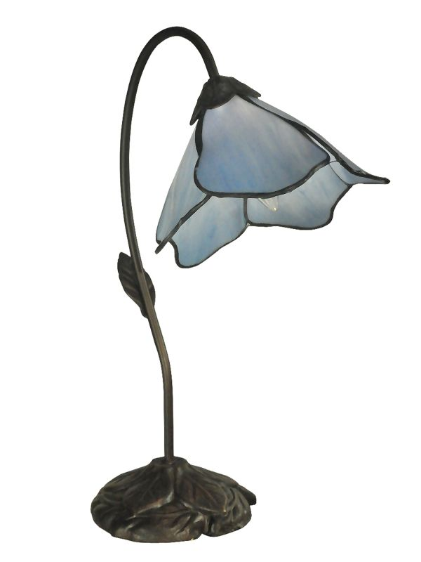 Dale Tiffany TT12145 Poelking 1 Light Table Lamp Dark Antique Bronze Sale $99.99 ITEM: bci2281227 ID#:TT12145 UPC: 20258115059 :