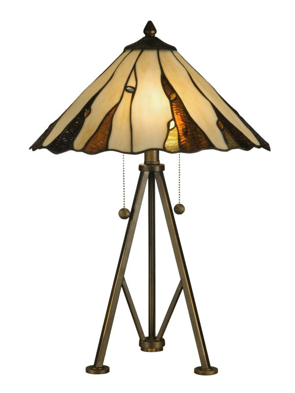 Dale Tiffany TT12436 Ripley 2 Light Table Lamp Copper Bronze Lamps Sale $249.99 ITEM: bci2281249 ID#:TT12436 UPC: 20258119873 :