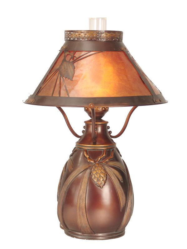 Dale Tiffany Tt60003 Brass 25 Quot Dana Table Lamp With 1