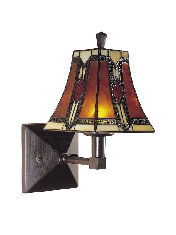 Plug In Tiffany Wall Sconces : Dale Tiffany TW100852 Mica Bronze 9