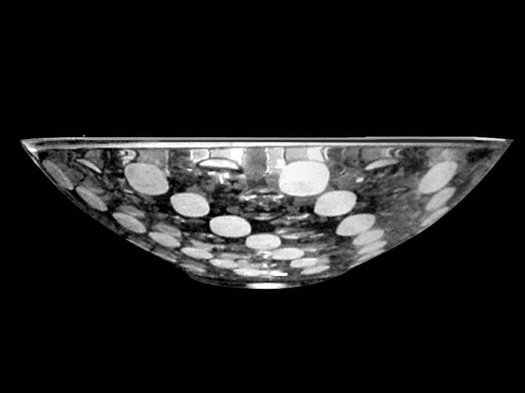 """Dale Tiffany GA80521 13"""" x 3.75"""" Festival Crystal Bowl Home Decor"""