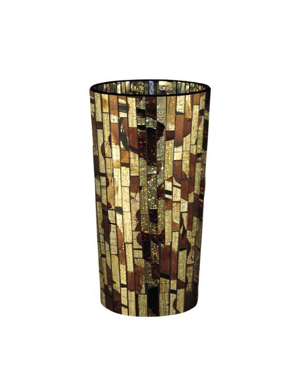 Dale Tiffany PG10271 Bella Terra Vase Gold Home Decor Vases