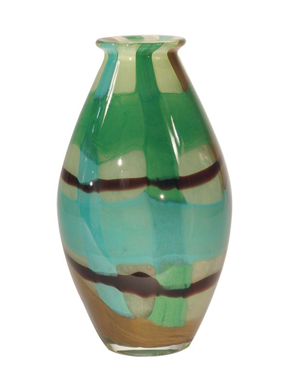 Dale Tiffany PG80157 Retro La Mesa Vase Green Home Decor Vases