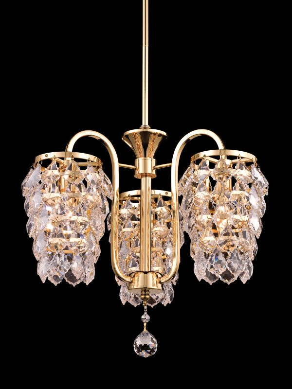 "Dale Tiffany GH80293 16"" x 15"" Abbey Pendant Gold Indoor Lighting"
