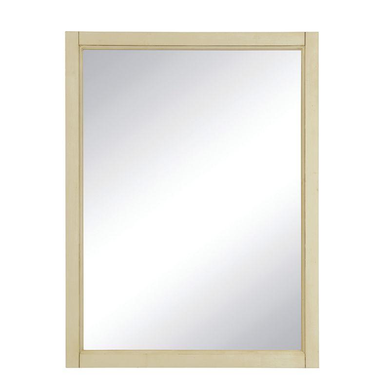 "DecoLav 9709 Jordan 24"" Rectangular Wall Mirror with Solid Wood Frame"