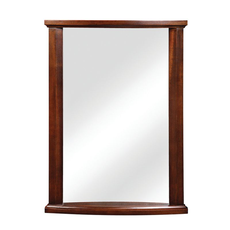 "DecoLav 9715 Olivia 24"" Rectangular Wall Mirror with Solid Wood Frame"