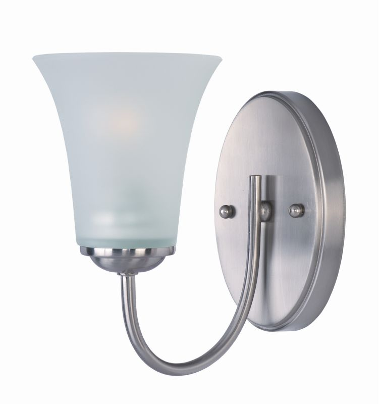 "Delacora DL-44671 Single Light 8.5"" Tall Bathroom Sconce From the"