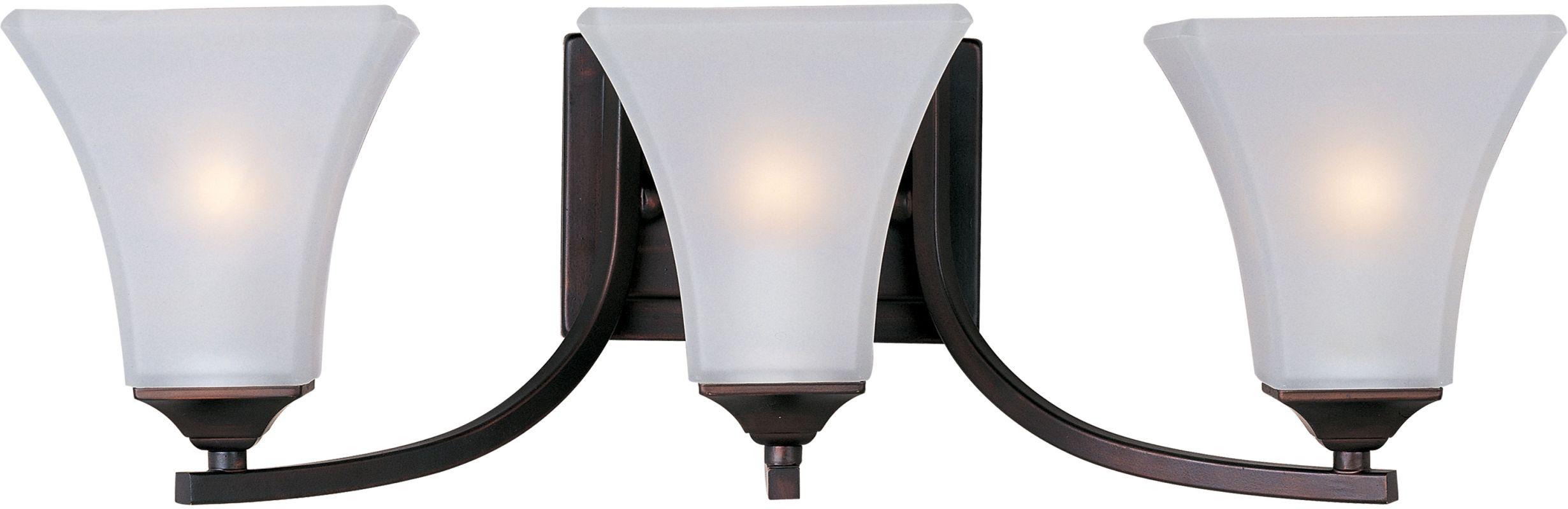 "Delacora DL-44580 3 Light 21.5"" Wide Bathroom Fixture from the Aurora"