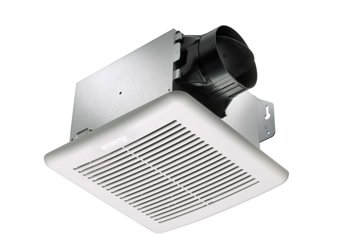 Delta Electronics GBR80H 80 CFM 0.8 Sone Ceiling Mounted Fan with