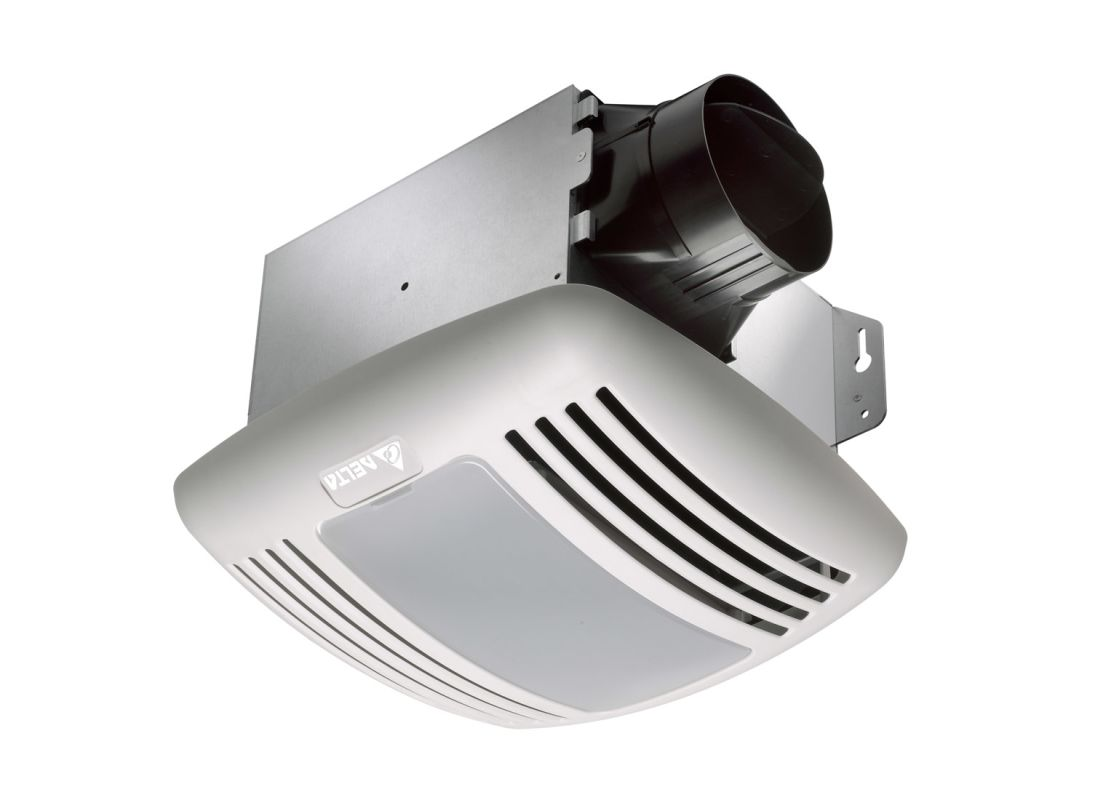 Delta Electronics GBR80HL 80 CFM 0.8 Sone Ceiling Mounted Fan with