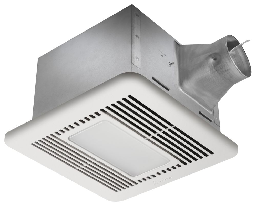 Delta Electronics SIG110LED 110 CFM 0.5 Sone Ceiling Mounted Fan with