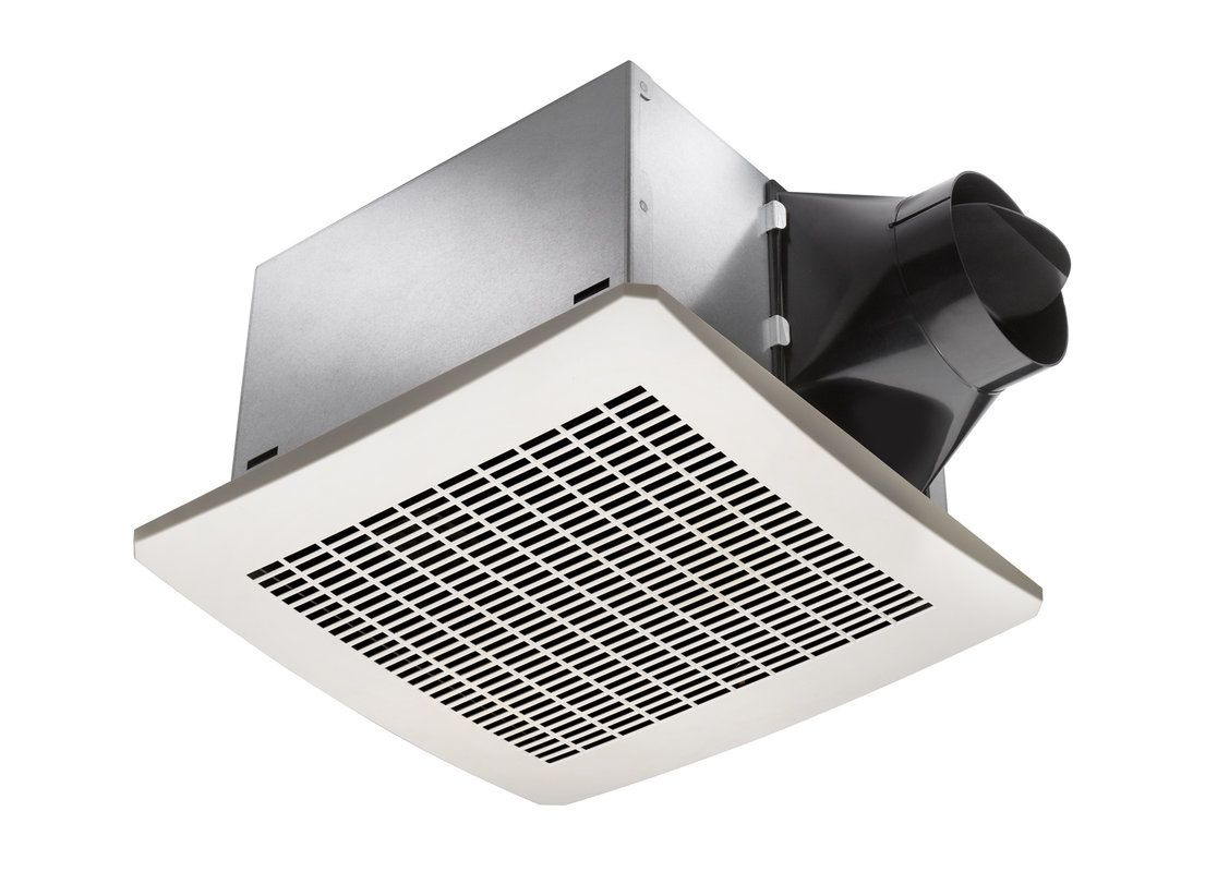Delta Electronics SIG110H 110 CFM 0.3 Sone Ceiling Mounted Exhaust Fan