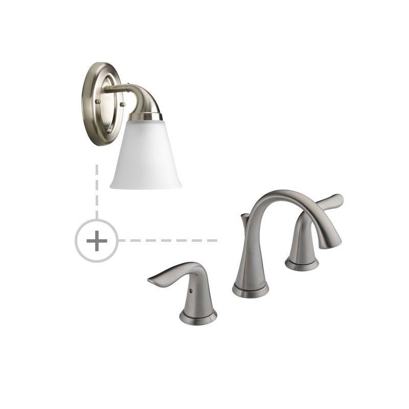 Delta 3538-MPU-DST.P2758 Lahara Widespread Bathroom Faucet with