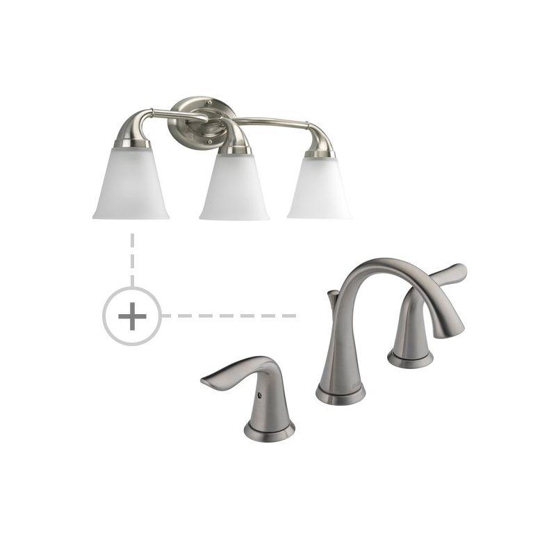 Delta 3538-MPU-DST.P2760 Lahara Widespread Bathroom Faucet with