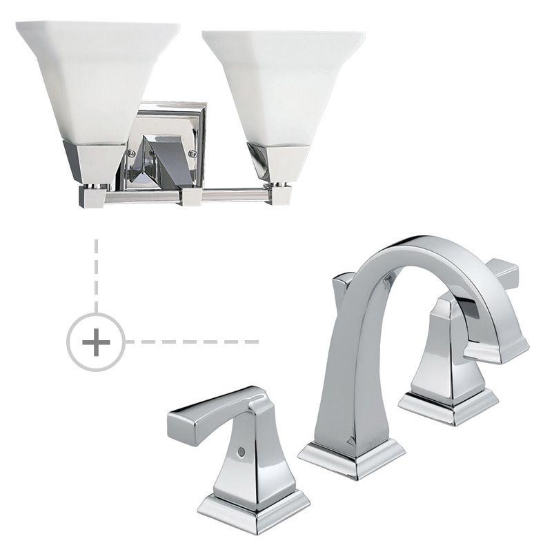 Delta 3551LF.P3136 Dryden Widespread Bathroom Faucet - Includes