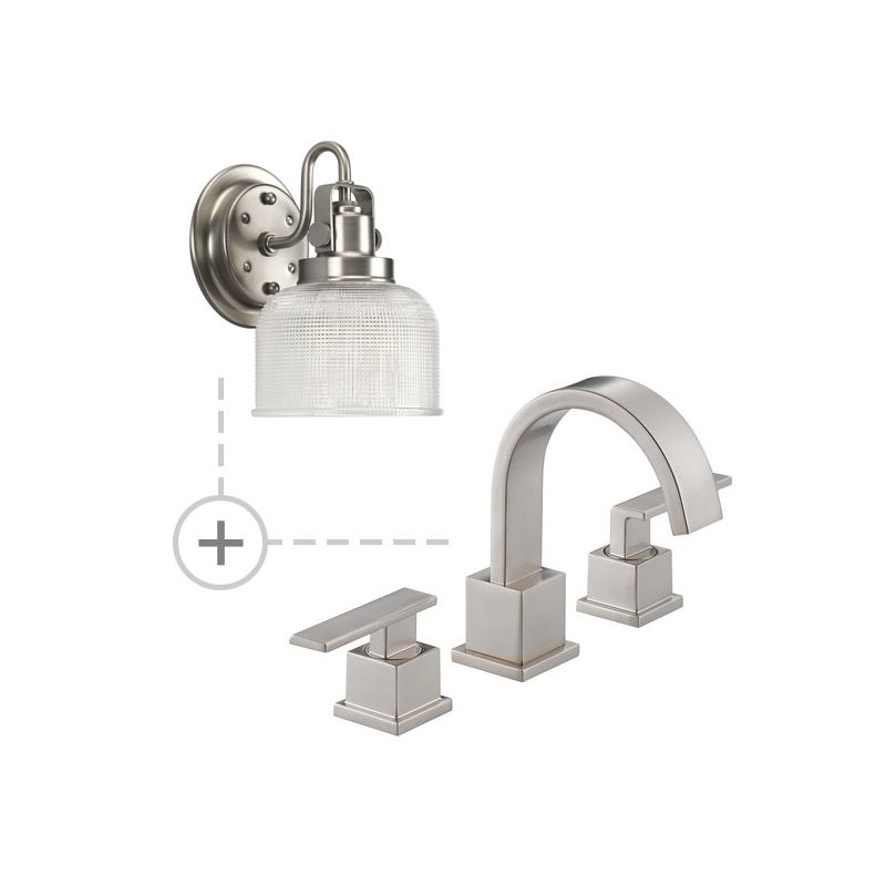 Delta 3553LF.P2989 Vero Widespread Bathroom Faucet - Includes Two