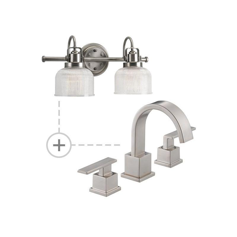 Delta 3553LF.P2991 Vero Widespread Bathroom Faucet - Includes Matching