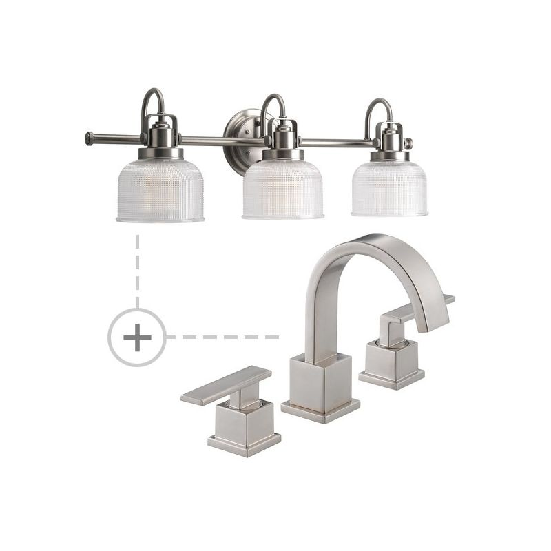 Delta 3553LF.P2992 Vero Widespread Bathroom Faucet - Includes Matching