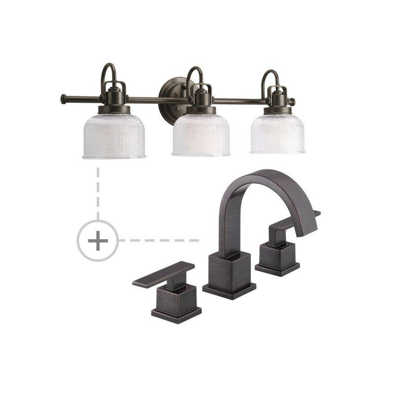 Delta 3553LF.P2992 Vero Widespread Bathroom Faucet - Includes Matching