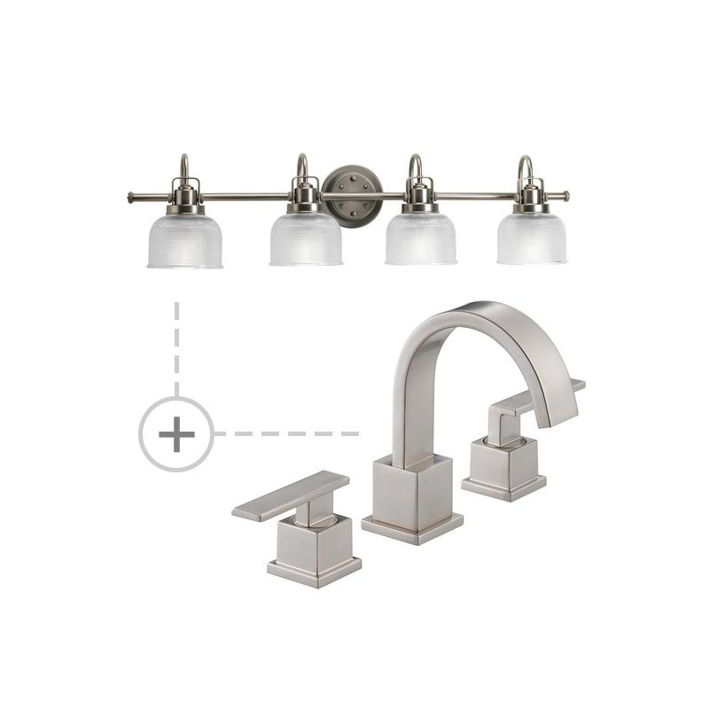 Delta 3553LF.P2997 Vero Widespread Bathroom Faucet - Includes Matching