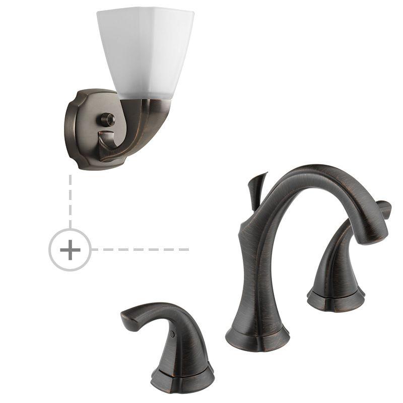 Delta 3592LF.P2846 Addison Widespread Bathroom Faucet - Includes Two